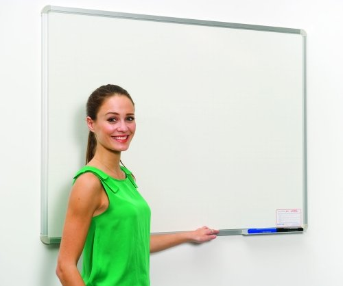 Spaceright Non-Magnetic 10/10 Writing White Boards - W1800 x H1200mm
