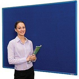Spaceright Colour Co-ordinated Flameshield Noticeboard - 1200 x 1200mm