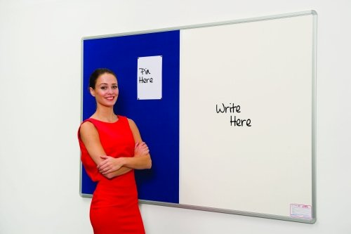 Spaceright Pinup and Pen White Boards - W1200 x H1200mm