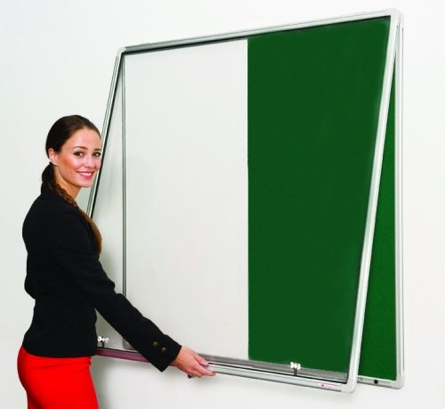 Spaceright Tamperproof Pinup and White Board Notice Board 1200 x 1200mm