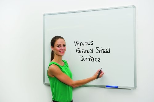 Spaceright Vitreous Enamel Steel (VES) Writing White Boards - 1500 x 1200mm
