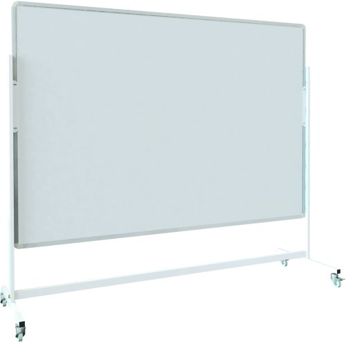 Spaceright Landscape Magnetic Mobile Writing White Boards - 900 x 600mm