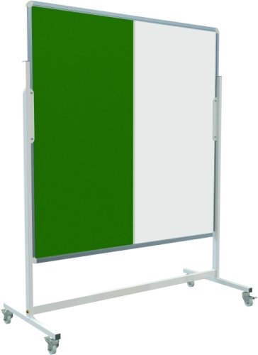 Spaceright Mobile Pinup Pen and White Board - W1800 x H1200mm