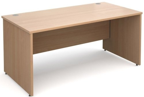Dams Maestro Rectangular Desk with Panel End Leg - (w) 1600mm x (d) 800mm