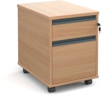 Dams Mobile Pedestal 2 Drawers - (w) 426mm x (d) 600mm