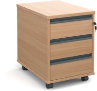 Dams Mobile Pedestal 3 Drawers - (w) 426mm x (d) 600mm