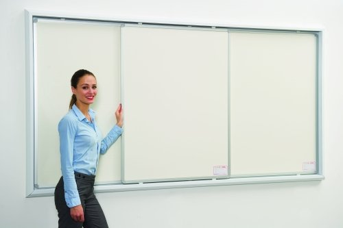 Spaceright Sliding Writing White Board Systems (One Sliding Board)