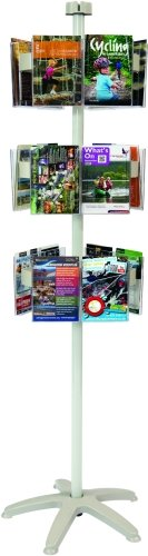Spaceright Carousel Freestanding Leaflet Dispensers 18 x A5