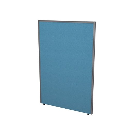 TC Office Divide Floor Standing Toprail Screen (w) 1400 x (h) 1800mm