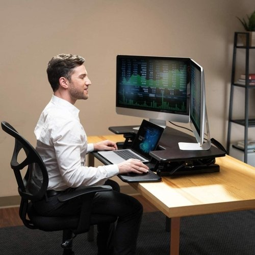 Dams Sora Height Adjustable Sit-Stand Workstations