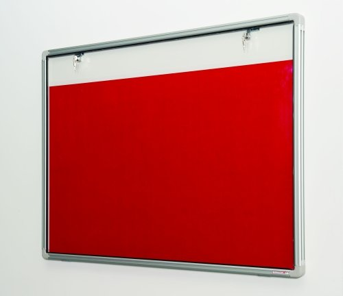 Spaceright Get Ahead Tamperproof Pinup Pen Board - Single Door 900 x 1200mm
