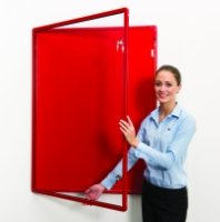Spaceright Colour Co-ordinated Decorative Tamperproof Noticeboards 900 x 600mm