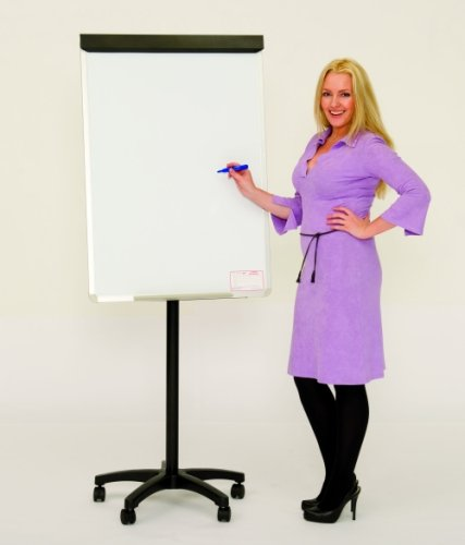 Spaceright Star Base Magnetic Mobile White Board Easel