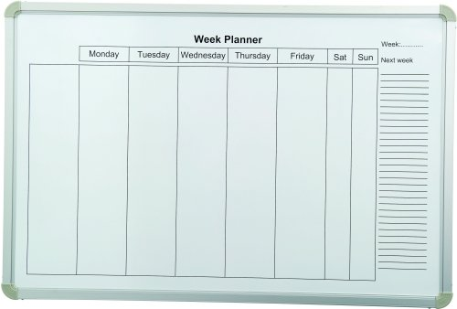Spaceright Weekly Planner Magnetic Writing Boards