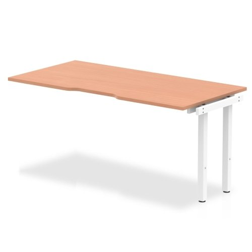 Gentoo Bulk Bench Extension Desk, Pod of 1 - (w) 1600mm x (d) 800mm