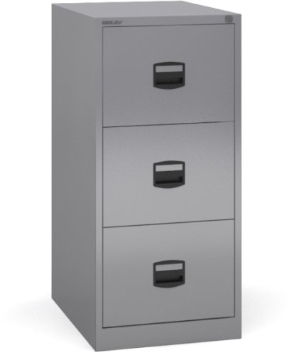 Dams Contract Steel Filing Cabinet 2 Drawer