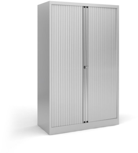 Bisley Steel Medium Tambour Cupboard