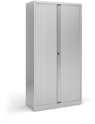 Dams Steel Tall Tambour Cupboard 1968mm