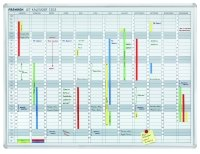 Gentoo Premiumline Magnetic Annual Planning Whiteboard - 1200mm x 900mm