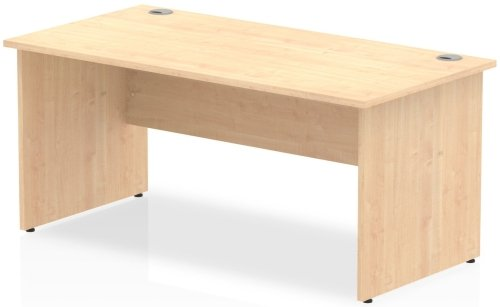 Gentoo Rectangular Desk with Panel End Legs - (w) 1000mm x (d) 800mm