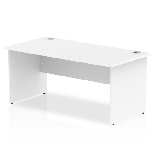 Gentoo Rectangular Desk with Panel End Legs - (w) 1200mm x (d) 600mm