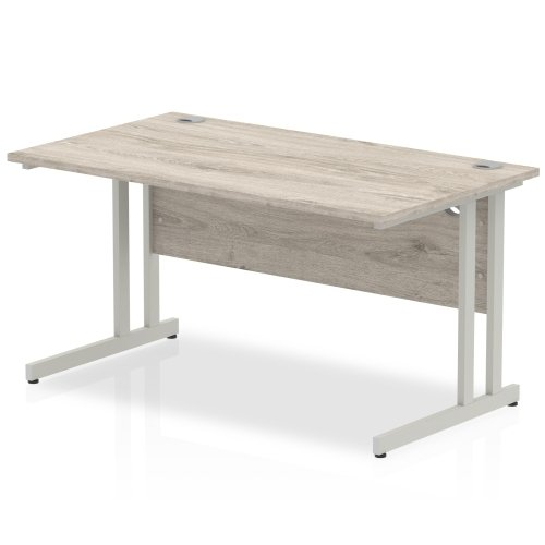 Gentoo Bulk Rectangular Desk with Cantilever Legs - (w) 1200mm x (d) 800mm