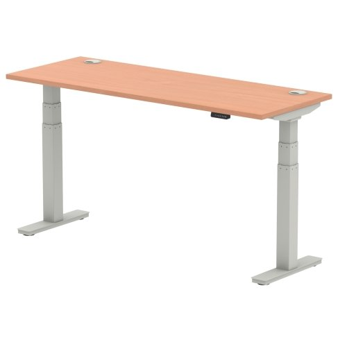 Gentoo Air Height Adjustable Desk - (w) 1600mm x (d) 600mm