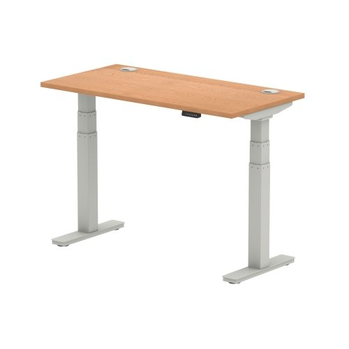Gentoo Air Height Adjustable Desk with Cable Port - (w) 1200mm x (d) 600mm