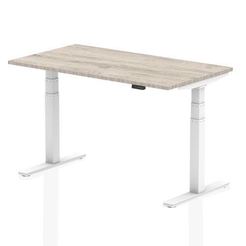 Gentoo Air Height Adjustable Desk - (w) 1400mm x (d) 800mm