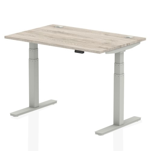 Gentoo Air Height Adjustable Desk with Cable Port - (w) 1200mm x (d) 800mm
