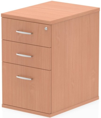 Gentoo Bulk Desk High Pedestal with 3 Drawers - (w) 425mm x (d) 600mm