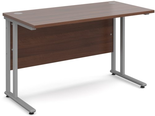 Dams Bulk Rectangular Desk with Twin Cantilever Leg - (w) 1400 x (d) 800mm