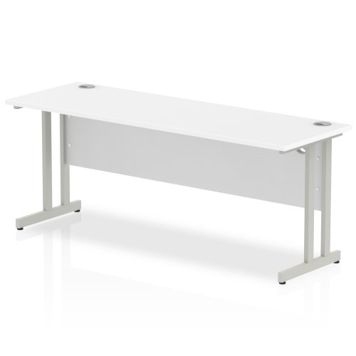 Gentoo Bulk Rectangular Desk with Twin Cantilever Legs - (w) 1600mm x (d) 600mm