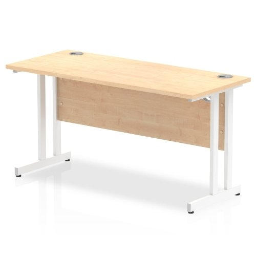 Gentoo Bulk Desk Rectangular Desk with Twin Cantilever Legs - (w) 1400mm x (d) 600mm