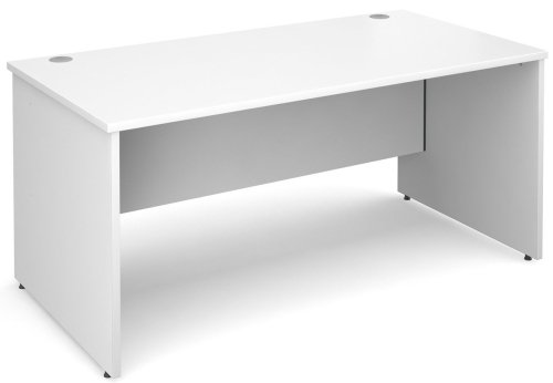 Dams Maestro Rectangular Desk with Panel End Leg - (w) 1000mm x (d) 800mm