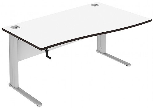 Elite Optima Plus Single Wave Height Adjustable Electronic Desk - (w) 1200mm x (d) 800mm