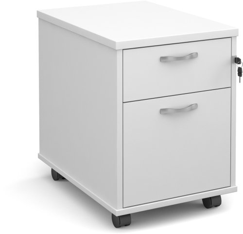 Dams Executive Mobile Pedestal 2 Drawers - (w) 426mm x (d) 600mm