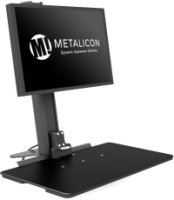 Metalicon i-Stand Single Monitor Screen Sit-Stand Workstations