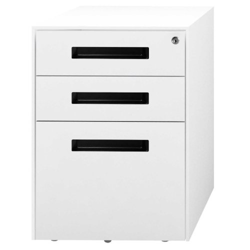 Metalicon Spectrum Mobile Steel Pedestal 2 Personal Drawers 1 File Drawer