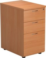 TC Office Desk High Pedestal 3 Drawers