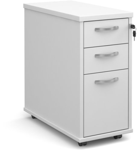 Dams Bulk Slim 3 Drawer Pedestal - (w) 300mm x (d) 600mm