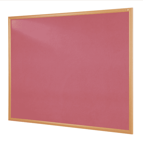 Gopak Eco Recycled Light Oak Noticeboard - 1200 x 1800mm