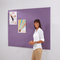 Gopak Frameless Recycled Noticeboard - 600 x 900mm