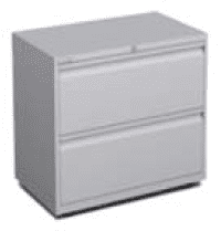 Elite Systemfile 2 Drawer Steel Side Filer 800 x 470mm