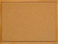 Gopak Wooden Framed Cork Noticeboard - 1200 x 900mm