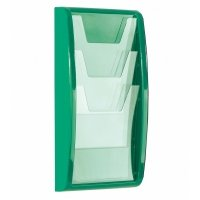 Gopak Panorama Leaflet Dispenser 3 x A4 Size - 521 x 267mm
