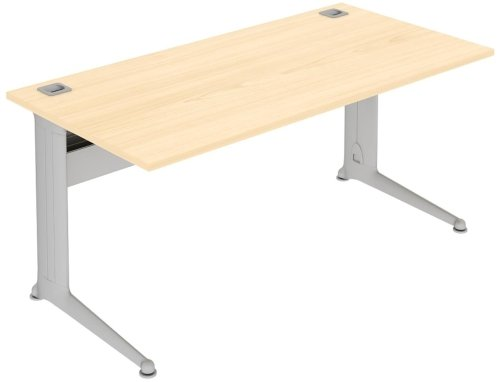 Elite Kassini Rectangular Desk 1000 x 800mm MFC Finish