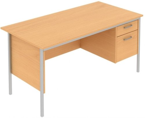 Elite Norton Single Pedestal Desk 1200 x 750mm