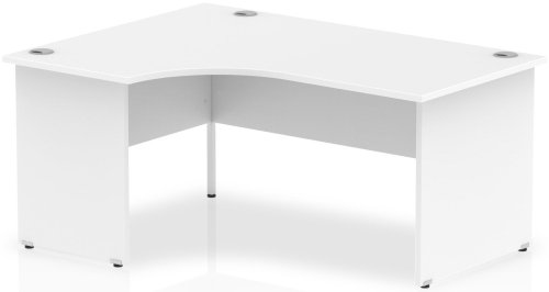 Gentoo Corner Desk with Panel End Legs - (w) 1800mm x (d) 1200mm
